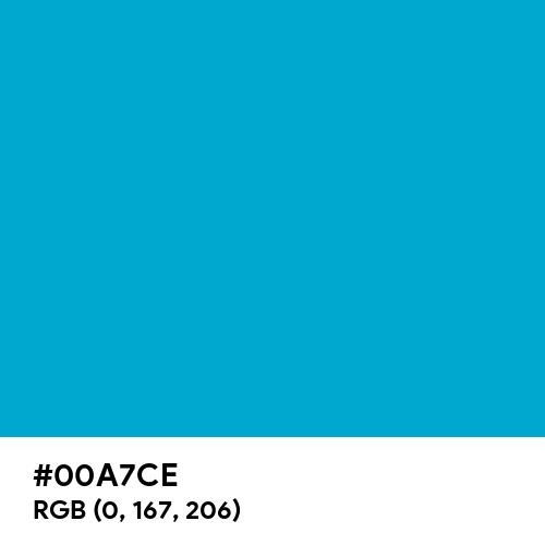 Amazon Echo Blue (Hex code: 00A7CE) Thumbnail