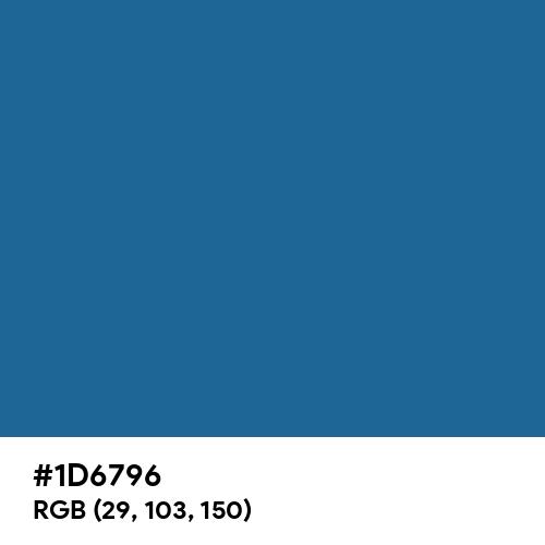Lapis Lazuli (Hex code: 1D6796) Thumbnail