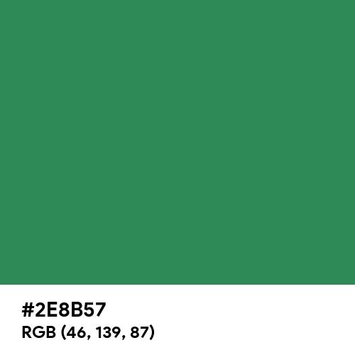 Sea Green (Hex code: 2E8B57) Thumbnail