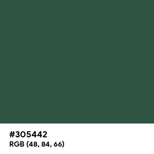 Pine Green (RAL) (Hex code: 305442) Thumbnail