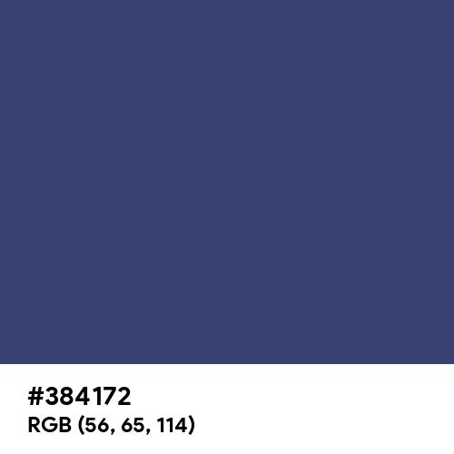 Lviv Blue (Hex code: 384172) Thumbnail