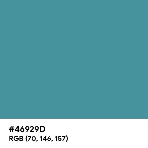 Rackley (Hex code: 46929D) Thumbnail