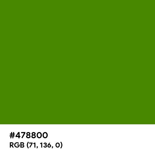 Scheele's Green (Hex code: 478800) Thumbnail