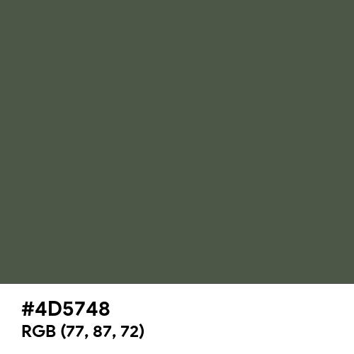 OG-107 (Hex code: 4D5748) Thumbnail
