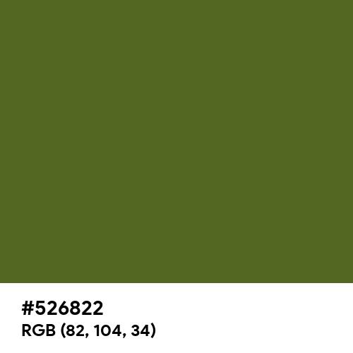 Deep Moss (Hex code: 526822) Thumbnail