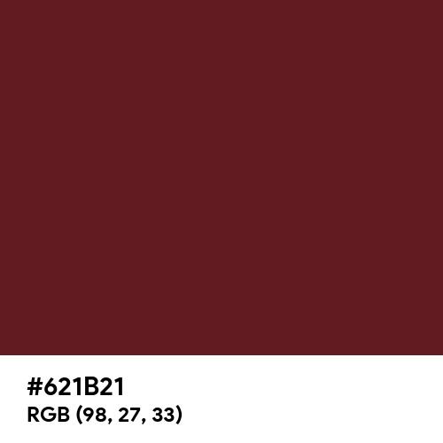 Rosewood (Hex code: 621B21) Thumbnail