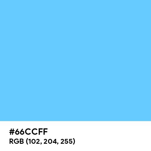 Maya Blue (Hex code: 66CCFF) Thumbnail