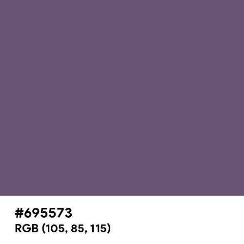 Granite Gray (Hex code: 695573) Thumbnail