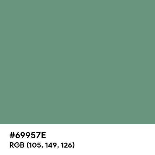 Sea Jasper (Hex code: 69957E) Thumbnail
