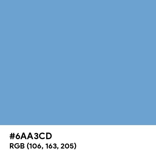 Iceberg (Hex code: 6AA3CD) Thumbnail