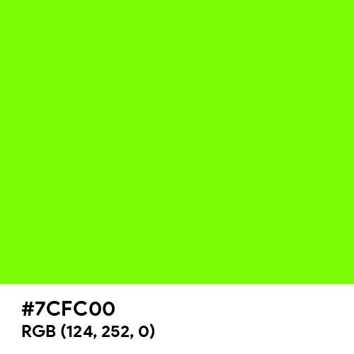 Lawn Green (Hex code: 7CFC00) Thumbnail