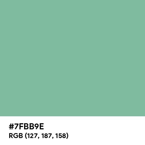 Neptune Green (Hex code: 7FBB9E) Thumbnail