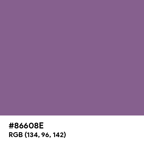 Pomp and Power (Hex code: 86608E) Thumbnail