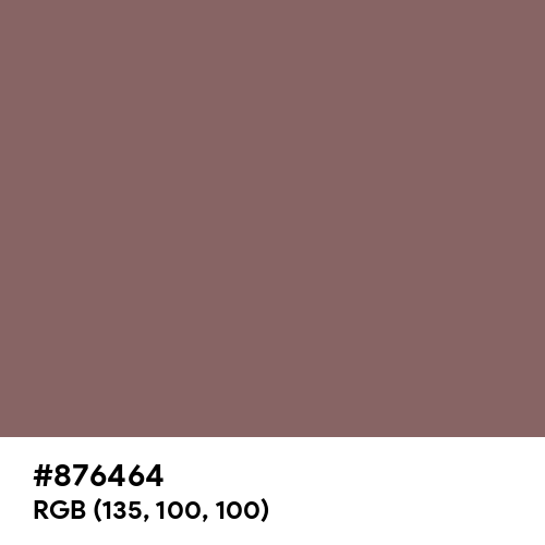 Deep Taupe (Hex code: 876464) Thumbnail