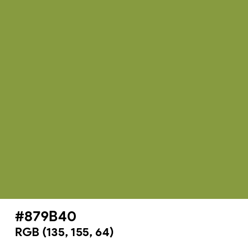Palm Leaf (Hex code: 879B40) Thumbnail