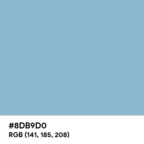 Dark Sky Blue (Hex code: 8DB9D0) Thumbnail