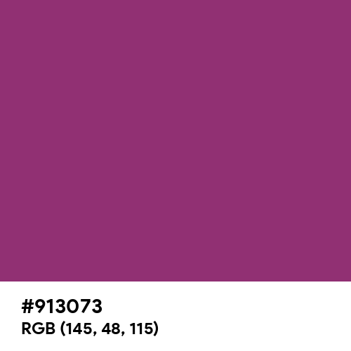 Traffic Purple (RAL) (Hex code: 913073) Thumbnail
