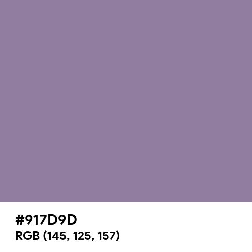 Mountbatten Pink (Hex code: 917D9D) Thumbnail