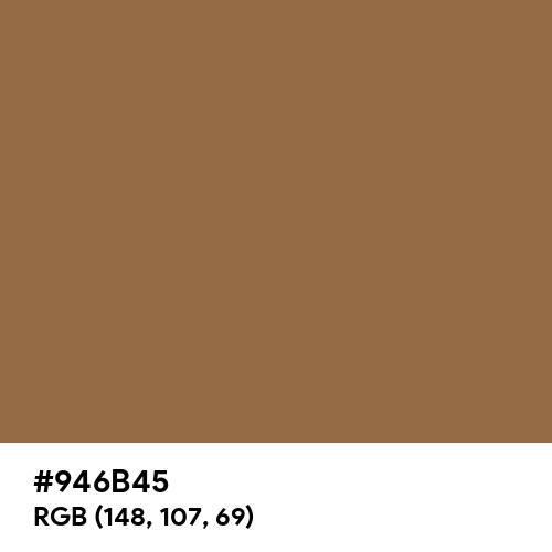Dark Beige (Hex code: 946B45) Thumbnail