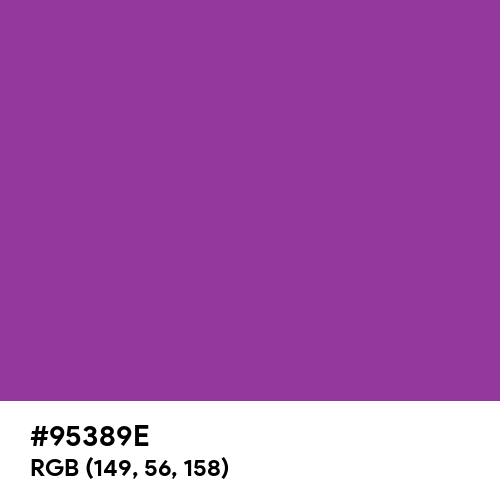 Cadmium Violet (Hex code: 95389E) Thumbnail