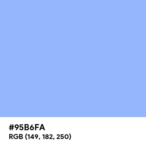 Jordy Blue (Hex code: 95B6FA) Thumbnail