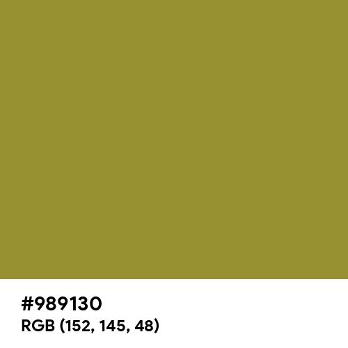 Metallic Sunburst (Hex code: 989130) Thumbnail