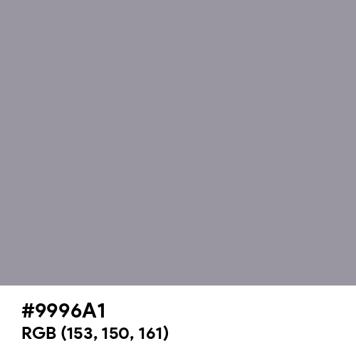 Mystic Gray (Hex code: 9996A1) Thumbnail