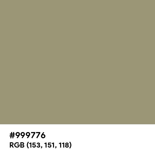 Artichoke (Hex code: 999776) Thumbnail