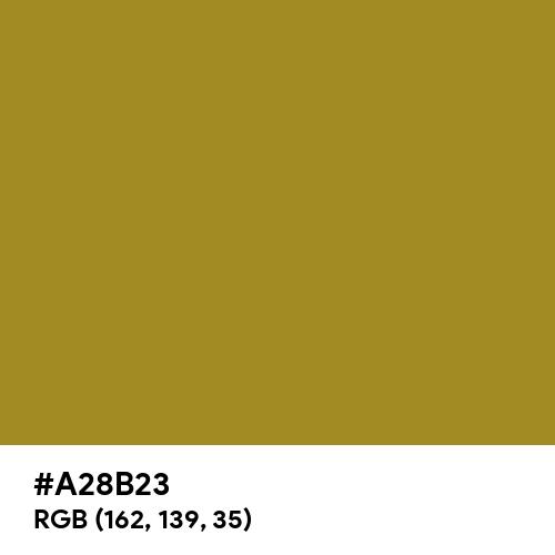 Vintage Gold (Hex code: A28B23) Thumbnail