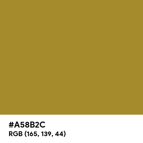 Faint Green (Hex code: A58B2C) Thumbnail