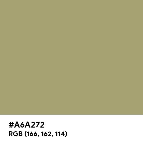Grullo (Hex code: A6A272) Thumbnail