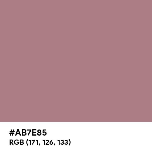 Rustic Rose Gold (Hex code: AB7E85) Thumbnail