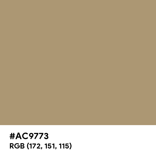 Light Taupe (Hex code: AC9773) Thumbnail