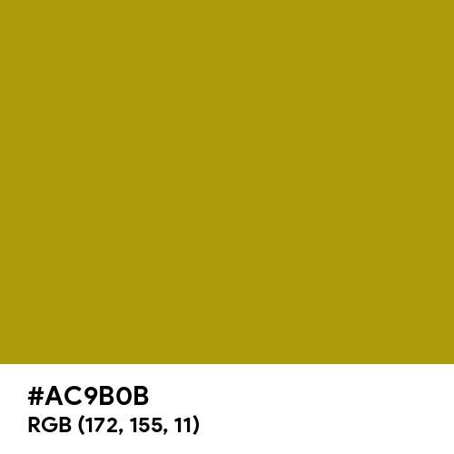 Light Gold (Hex code: AC9B0B) Thumbnail
