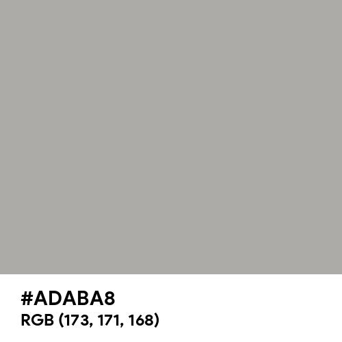Silver Chalice (Hex code: ADABA8) Thumbnail