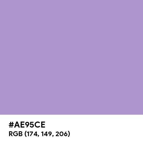 Light Pastel Purple (Hex code: AE95CE) Thumbnail