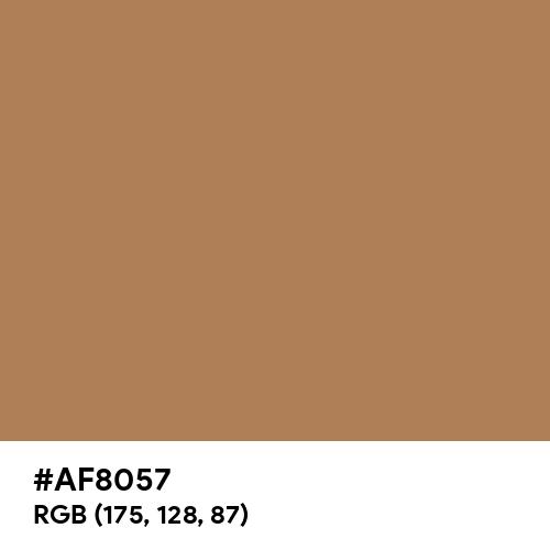 Honey Brown (Hex code: AF8057) Thumbnail