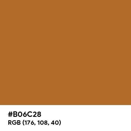 Dark Bronze (Hex code: B06C28) Thumbnail