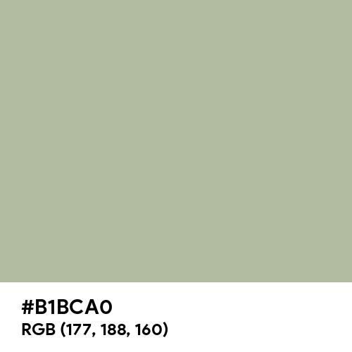 Sage (Hex code: B1BCA0) Thumbnail