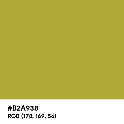 Brass (Hex code: B2A938) Thumbnail