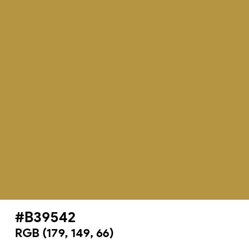 Brass (Hex code: B39542) Thumbnail
