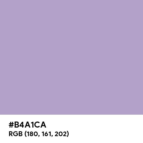 Calming Lavender (Hex code: B4A1CA) Thumbnail