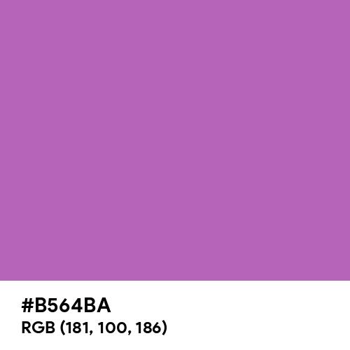 Deep Fuchsia (Hex code: B564BA) Thumbnail