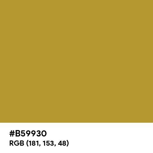 University Of California Gold (Hex code: B59930) Thumbnail