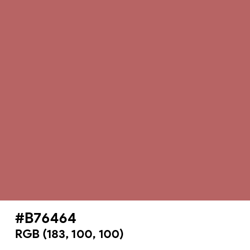 Electric Brown (Hex code: B76464) Thumbnail