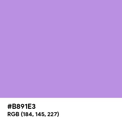 Baby Violet (Hex code: B891E3) Thumbnail