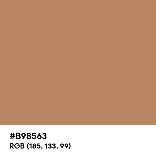 Cognac Brown (Hex code: B98563) Thumbnail