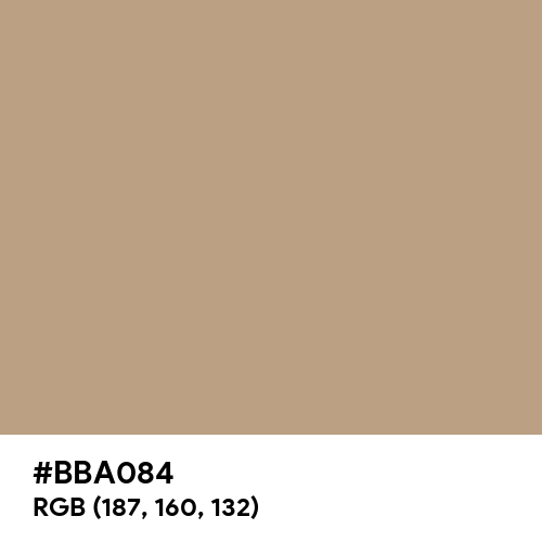 Rustic Beige (Hex code: BBA084) Thumbnail