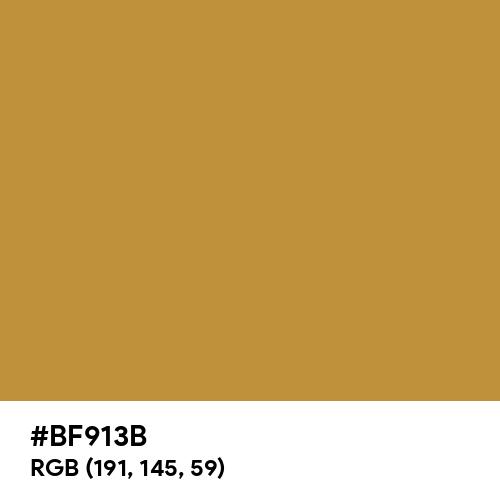 Gold Crown (Hex code: BF913B) Thumbnail