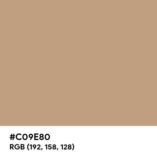 Pure Beige (Hex code: C09E80) Thumbnail